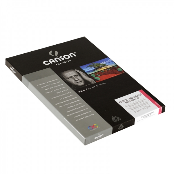 Papel Canson Infinity Photo Highgloss Premium RC 315grs