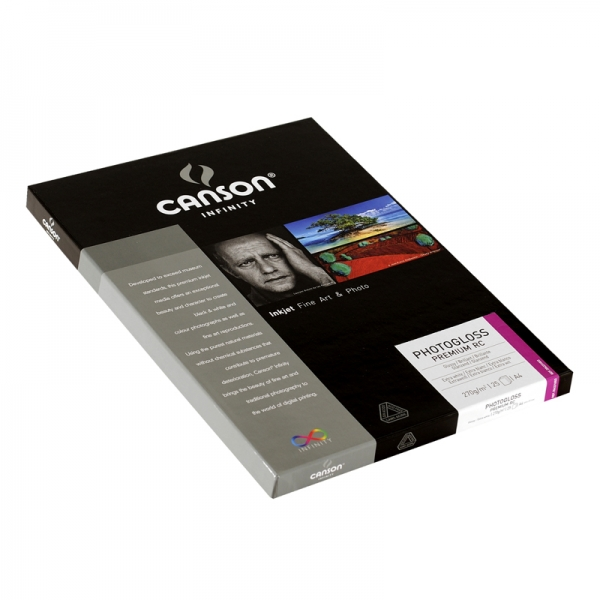 Papel Canson Infinity PhotoGloss Premium RC 270grs