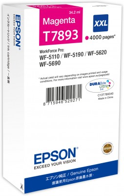 Tintas Epson WorkForce WF-5110/5620/5690