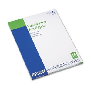 Papel Epson Velvet Fine Art 260grs