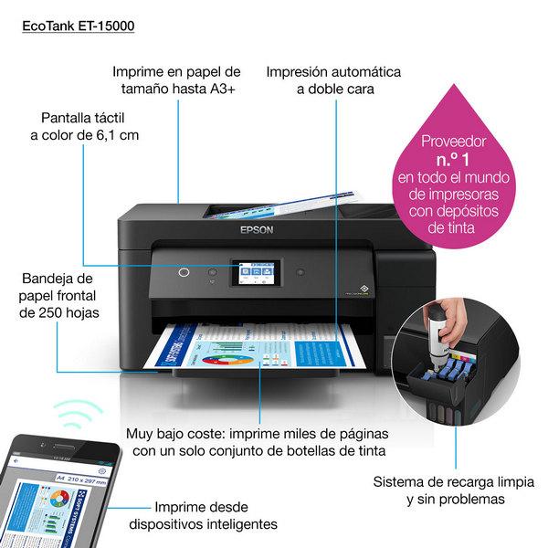 Impresora Epson EcoTank ET-15000