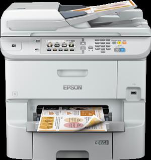 Impresora Epson WorkForce Pro WF-6590D2TWFC
