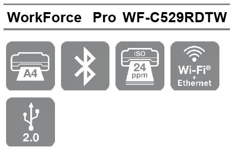 Las mejores características profesionales de la Impresora Epson WorkForce Pro WF-C529RDTW en formato A4