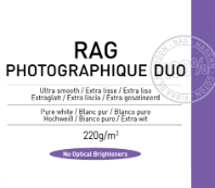 Papel Canson Infinity Rag Photographique Duo 220grs