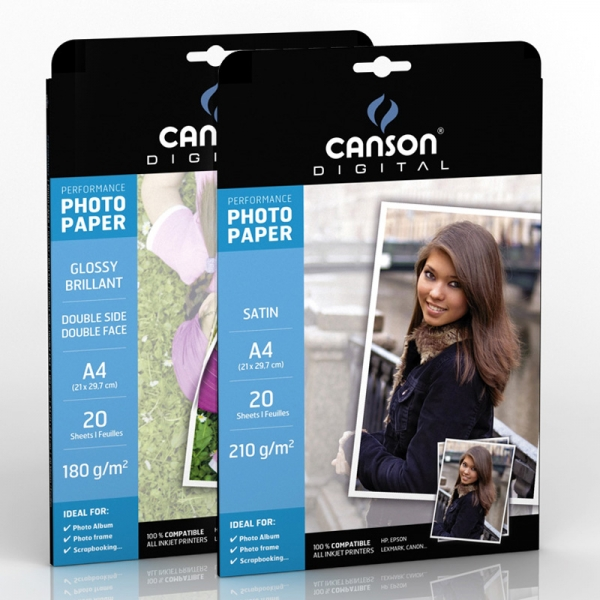 Papel Canson Performace Matte Finish 180gr