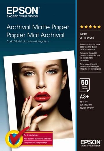 Papel Epson Archival Matte 189grs