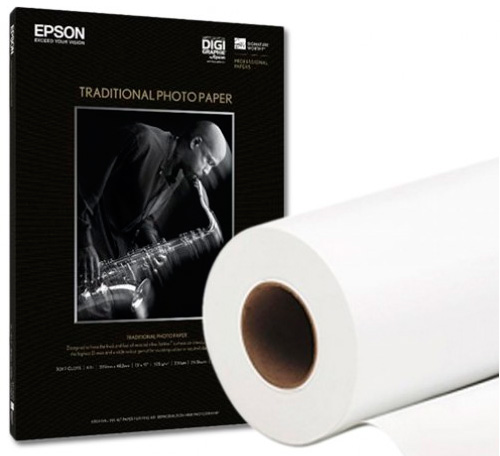 Papel Epson Signature Worthy Traditional Photo 300grs