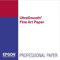 Papel Epson UltraSmooth Fine Art 325grs