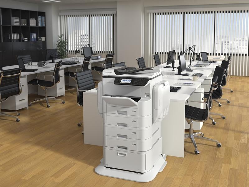 Impresora Epson WorkForce Pro WF-C869RD3TWFC