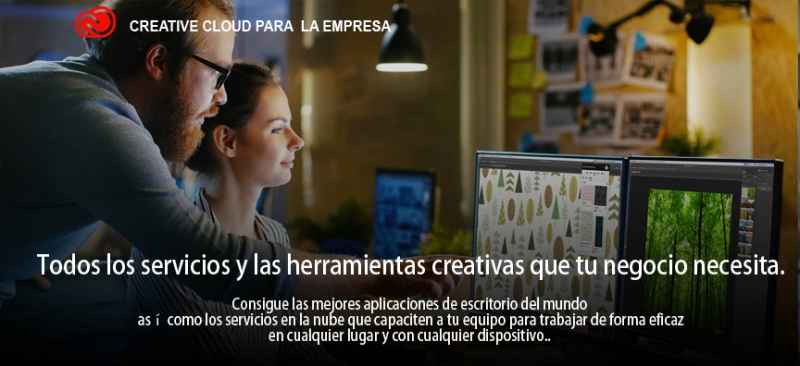 Adobe Creative Cloud para el sector empresa