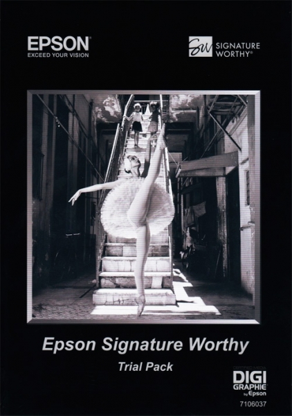 Papel Epson Signature Worthy Trial Pack