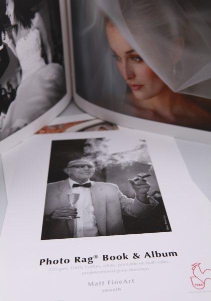 Recambio Hojas Album Hahnemühle Photo Rag Book & Album 220grs
