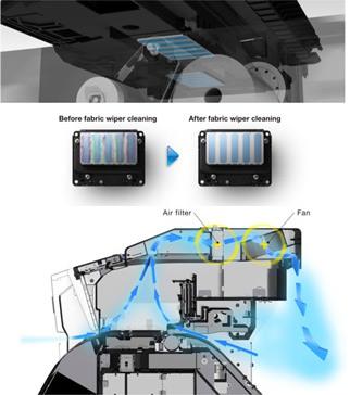 Características técnicas de mejoras de SureColor serie S