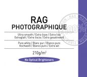 Papel Canson Infinity Rag Photographique 210grs