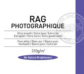 Papel Canson Infinity Rag Photographique 310grs