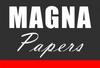 Magna Papers Eco Roll Up Trasera Gris 230gr