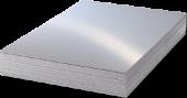 Unisub Lámina Aluminio Plata brillo 1 lado 0,76mm