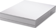 Unisub Lámina Aluminio blanco brillo 2 lados 1,14mm
