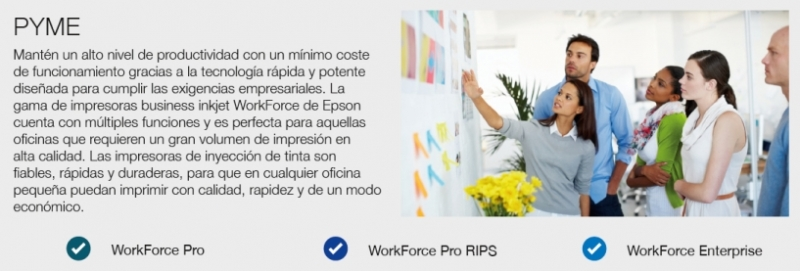 WorkForce para PYME y Gran Empresa