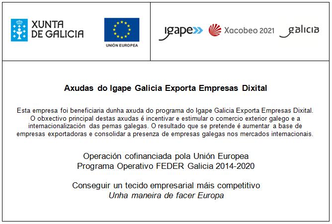 Axudas do Igape Galicia Exporta Empresas Dixital