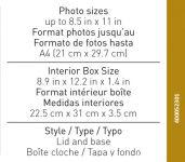 Caixas de arquivo fotográfico
